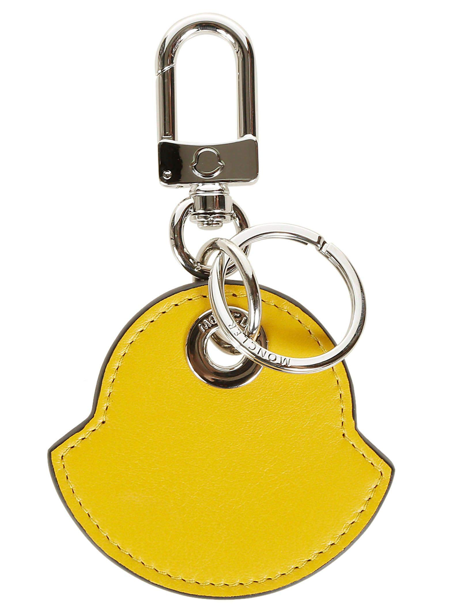 Moncler Genius Men's 0088507504135 Yellow Leather Key Chain