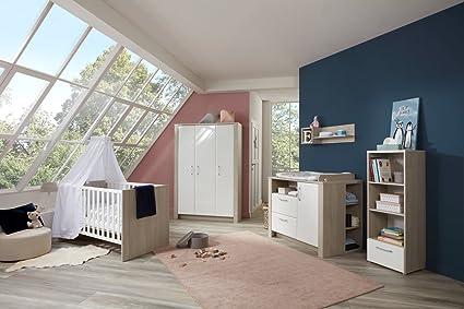 lifestyle4living Babyzimmer, Kinderzimmer, Babymöbel ...