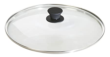 Lodge Tempered Glass Lid 12 Inch Fits Lodge 12 Inch Cast Iron Skillets and 7 Quart Dutch Ovens