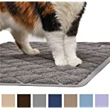 Gorilla Grip The Original (TM) Premium Cat Litter Mat, XL Jumbo Size, Phthalate Free, Traps Litter from Box and Paws, Best Scatter Control, Soft on Sensitive Kitty Paws, Easy to Clean, Durable