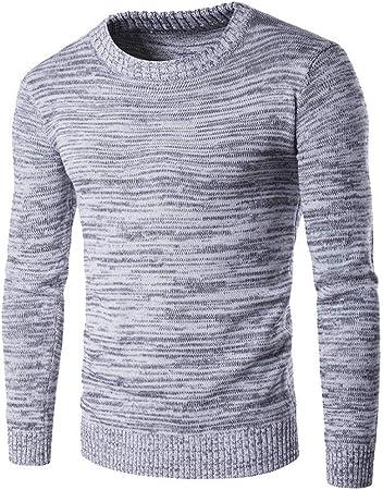 FEIDAO Maglione da Uomo Nuovi Maglioni di Lana di Cashmere Uomini Pullover Slim Fit Uomo Modello O-Collo A Maniche Lunghe Casual Abbigliamento da Uomo di Grandi Dimensioni