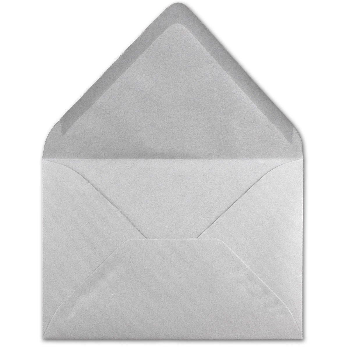 120 g//m/² Nassklebung Brief-H/üllen ohne Fenster f/ür Einladungen von Ihrem Gl/üxx-Agent 50 DIN C6 Briefumschl/äge Dunkelgr/ün 11,4 x 16,2 cm