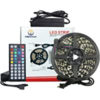 WenTop 16.4-Foot PCB 300-LED Dimmable Waterproof Strip Light Kit