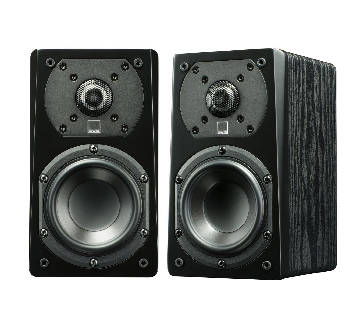 SVS Prime Satellite Speakers Black Ash (Pair) by SVS