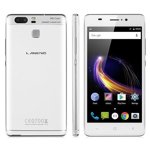 10 opinioni per Landvo XM300 Smartphone 3G Android 6.0 ( MT6580 Quad Core 1.3GHz, 5.0'' IPS HD
