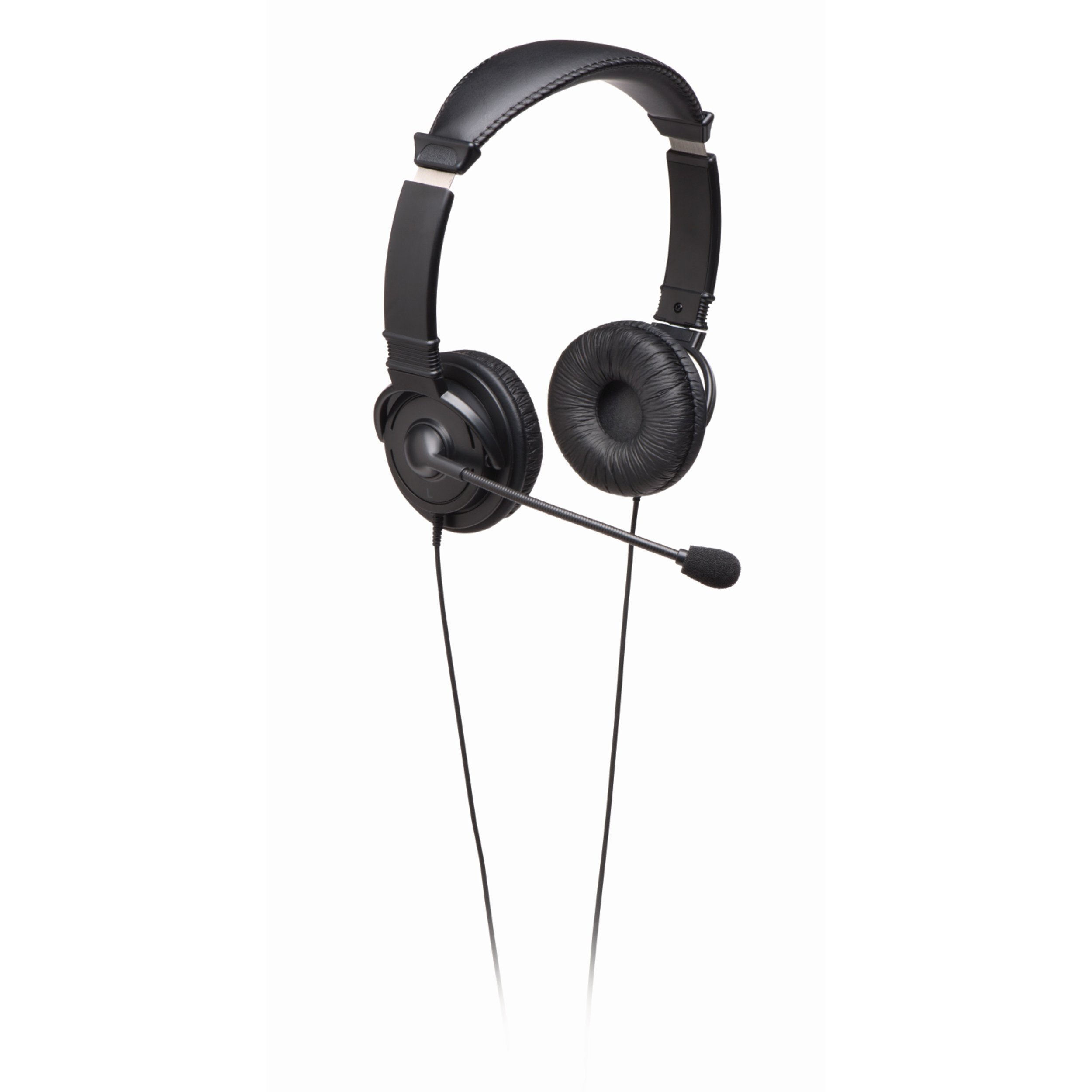 Kensington Hi-Fi On-Ear Headphones with Mic and 9-Foot Cord (K33323WW)