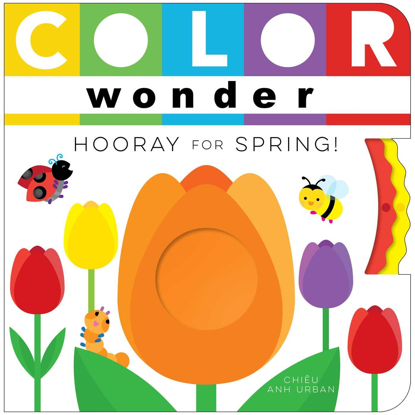 amazoncom color wonder hooray for spring 9781481487207 chieu anh urban books - Color Wonder Books