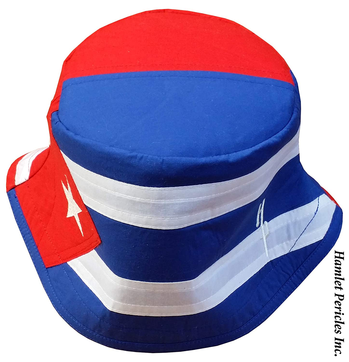 91afaa7963c Amazon.com  Cuba Puerto Rico Combo Flag XL Bucket Hat