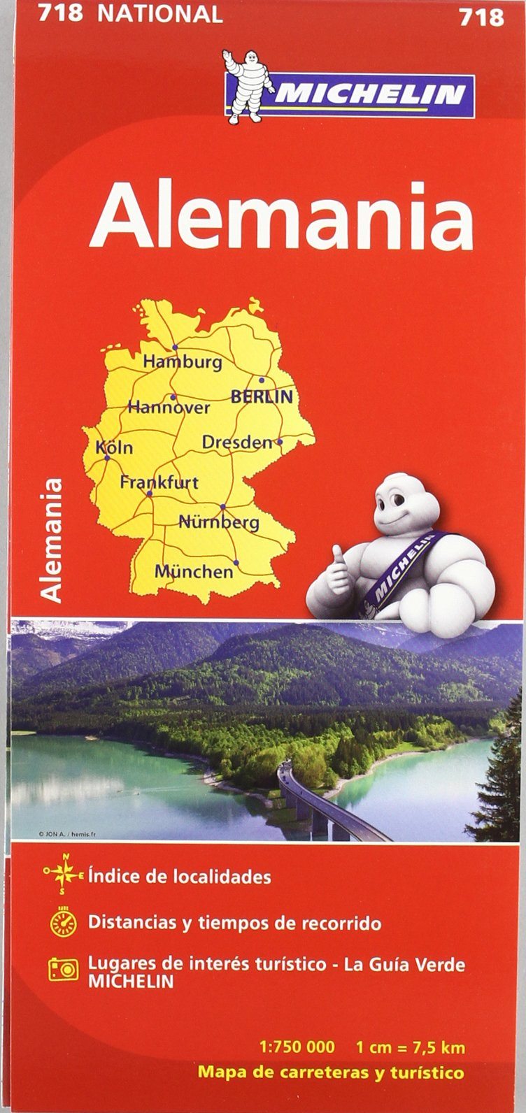 Mapa National Alemania (Mapas National Michelin): Amazon.es: Vv.Aa, Vv.Aa: Libros