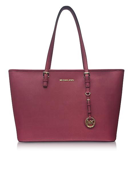 3c164db5ff Michael Kors Borsa Shopping Donna 30T5gtvt2l666 Pelle Viola: Amazon.it:  Abbigliamento