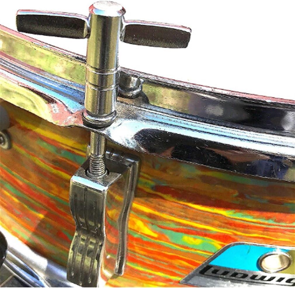 Yinew cl/és de tambour tambour Cl/é daccordage avec vitesse de mouvement continue des principales pi/èces dinstruments de percussion pour batteurs Straight Type M/étal As description