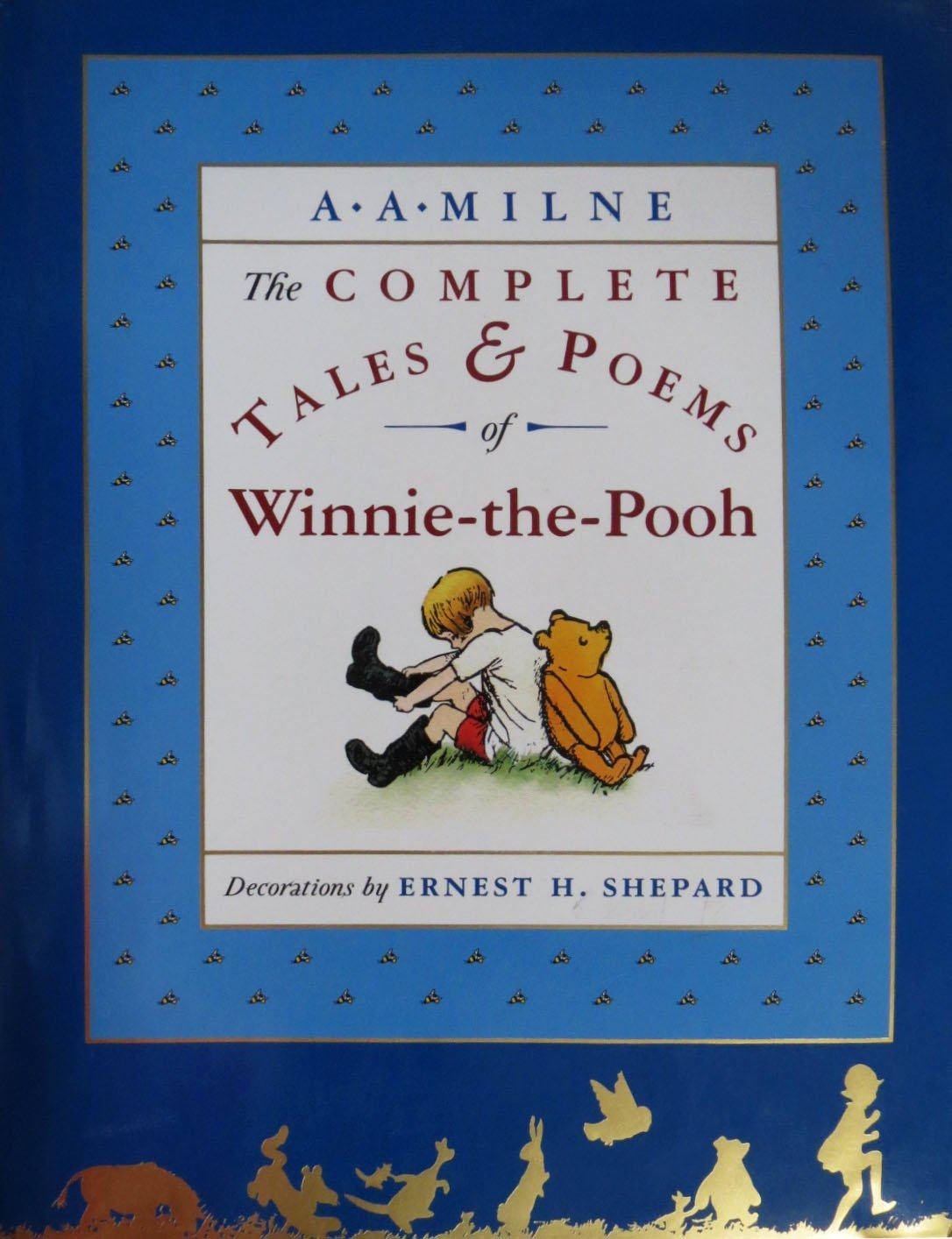 Winnie The Pooh Aa Milne Book
