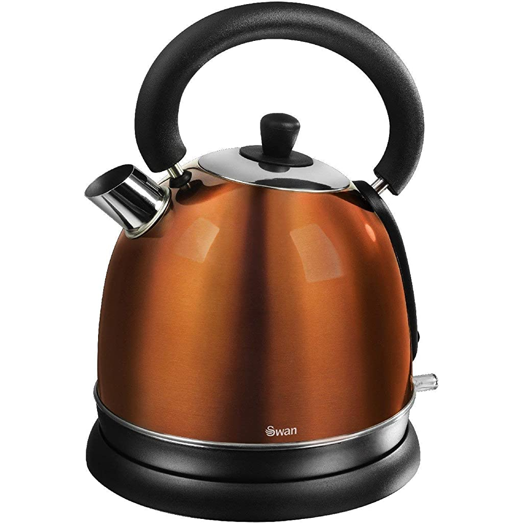 Copper Swan Retro Dome Kettle, 1.8 Litre