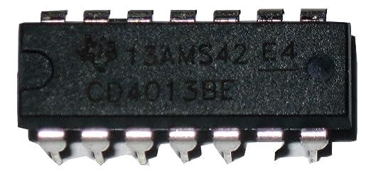 10pcs New CD4013BE CD4013 Dual D-type flip-flop IC DIP-14 Logic Chips J X ~.B HV