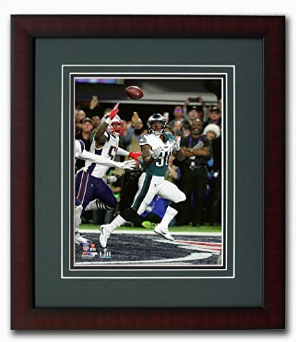 06e6dd79dfe Philadelphia Eagles Corey Clement Scores a Touchdown During Super Bowl 52  Matted & Framed 8x10 Photo