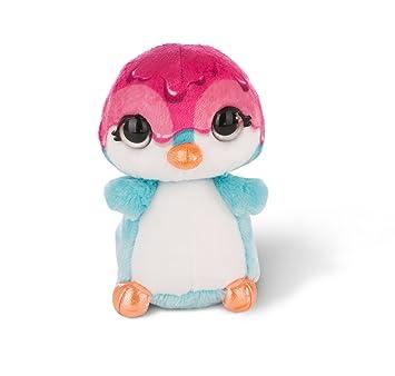 NICI - NICIdoo Ojos mágicos pingüino Deezy, Peluche 16cm, Color varierdad Colores (42485