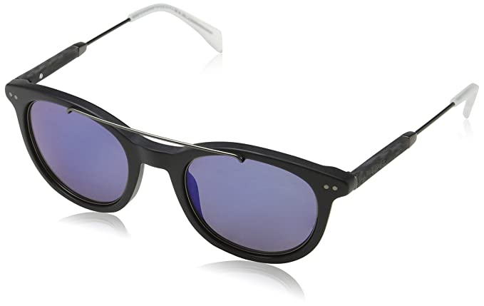 Unisex-Adults TH 1348/S 8F Sunglasses, Brown, 49 Tommy Hilfiger