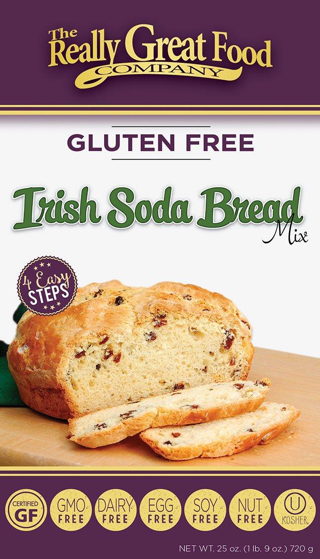 THE REALLY GREAT FOOD COMPANY GLUTEN FREE CAKE MIXES 3 PACKS (IRISH SODA BREAD)