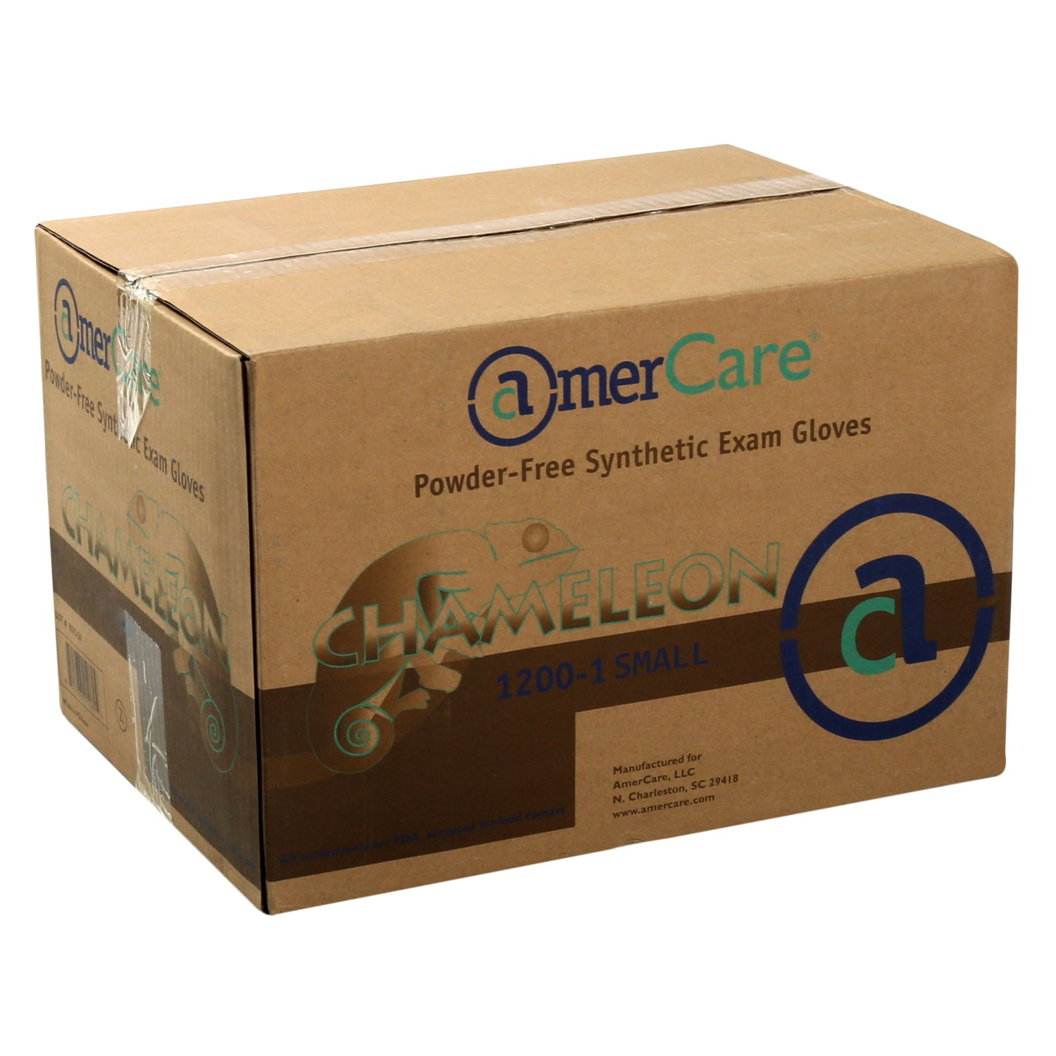 AmerCare Chameleon Powder Free, Synthetic Gloves, Small, Case of 1000 by AmerCare (Image #5)