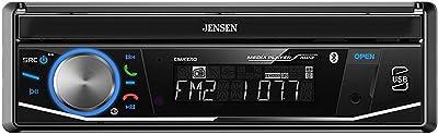 Jensen CMR3710 Single Din 7 Motorized Touchscreen Digital Multimedia Receiver