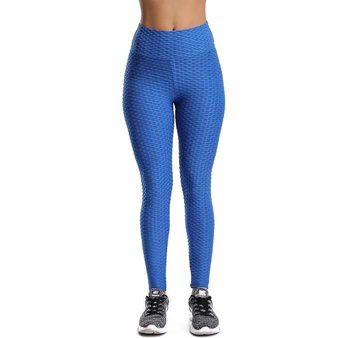 Amazon.com: CFR - Mallas de cintura alta para mujer, con ...