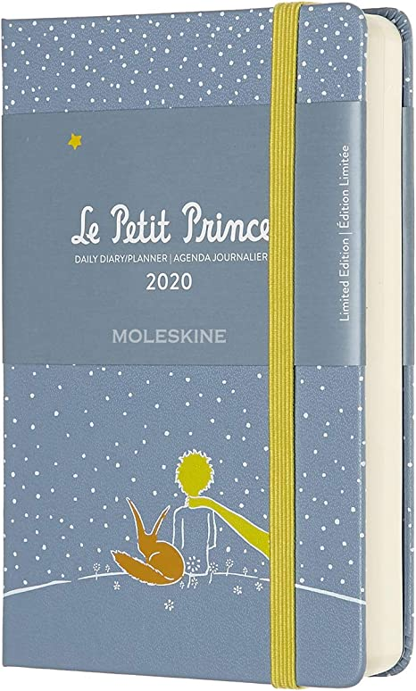 Moleskine Limited Edition Petit Prince 12 Month 2020 Daily Planner, Hard Cover, Pocket (3.5