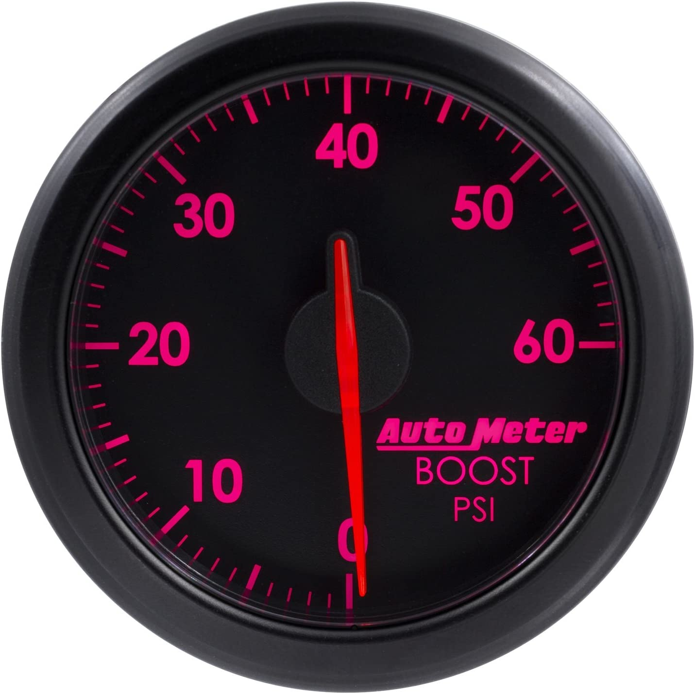 AutoMeter 9160-T 2-1//16 Boost 0-60 Psi Black Airdrive