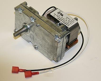 Universal de repuesto estufa de pellets Auger Motor – 1 rpm a la derecha.