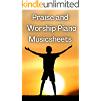 Praise and Worship Piano Musicsheets book cover