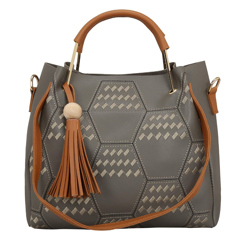 Bagclan Embroided Fancy Handbag/Tote Bag For Girls/Women