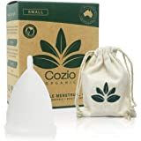 Cozio Menstrual Cup (Aussie Owned) - Soft and Flexible Moon Cup - Comfortable Fit - Wear for 12 Hours - BPA & Latex Free…