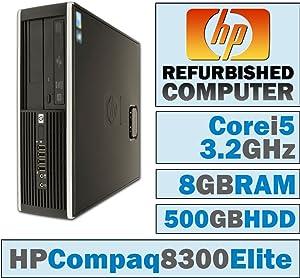 HP Compaq Elite 8300 SFF/Core i5-3470 @ 3.2 GHz/8GB DDR3/500GB HDD/DVD-RW/No OS