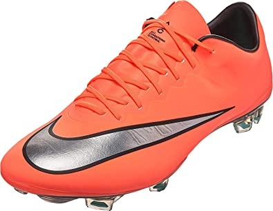 separation shoes 4ca74 40a5f NIKE Mercurial Vapor X FG Brght MNG/Metllc Slvr-Hyper TRQ Mangue  Eclatante/Hyper Turq/Ar Shoes