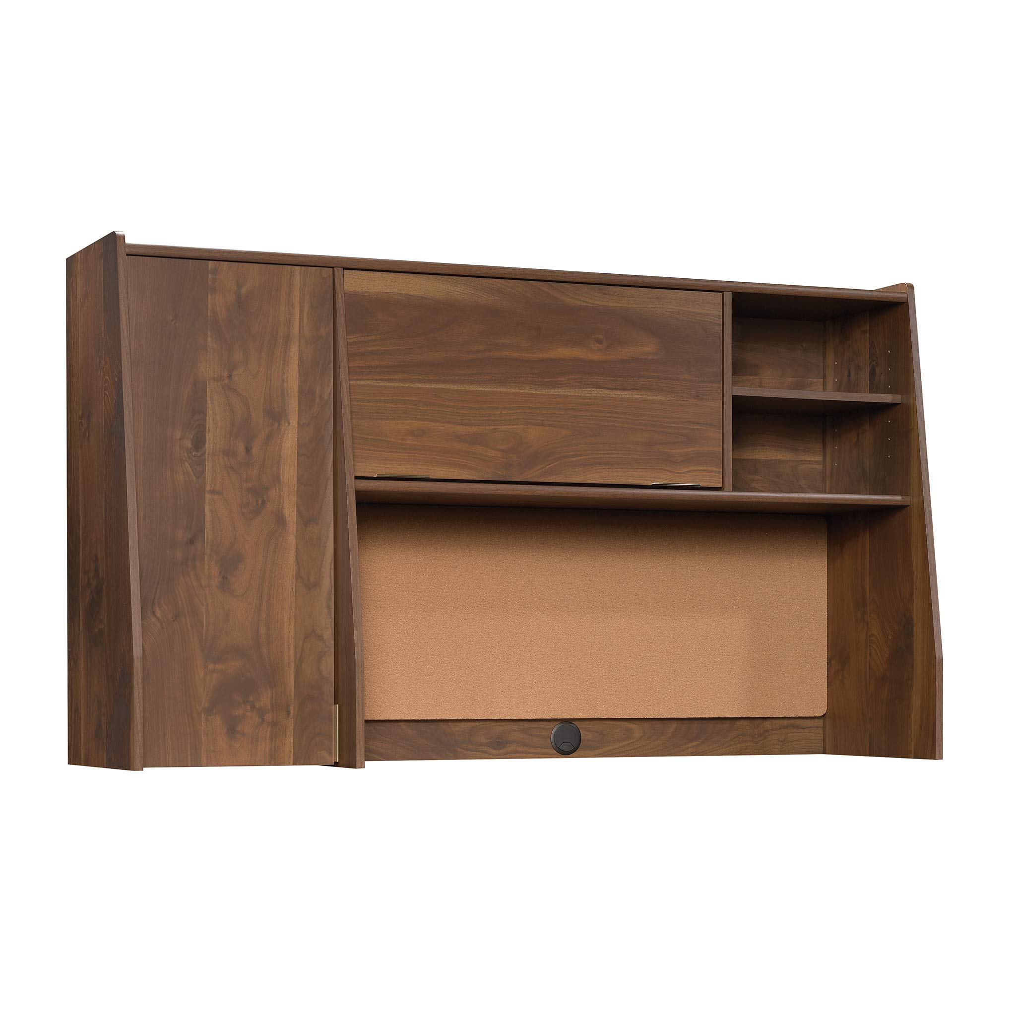 Sauder 422277 Clifford Place Hutch, L: 58.90'' x W: 16.34'' x H: 34.13'', Grand Walnut finish