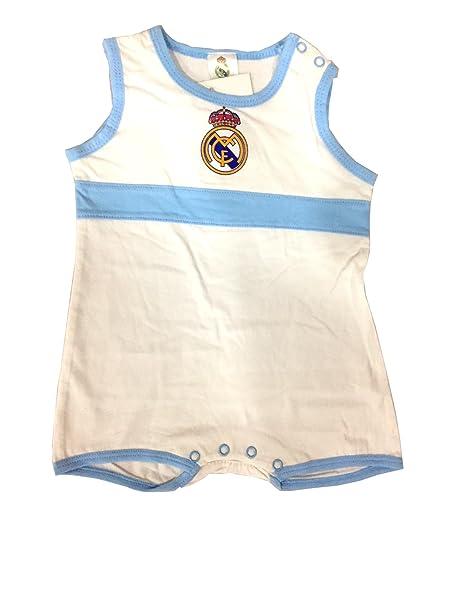 Real Madrid Pelele Manga Corta 3-18 Meses (3 meses)