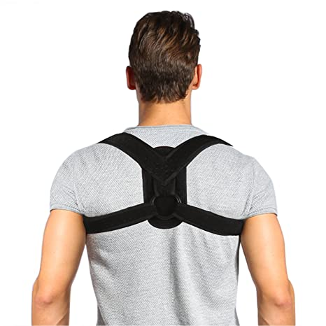 Amazon.com: Posture Corrector Brace and Clavicle Support Straightener for Upper Back Shoulder Forward Head Neck Aid, Improve and Fix Poor Posture for Women ...