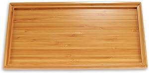 Organic Bamboo Tea Serving Tray - 11