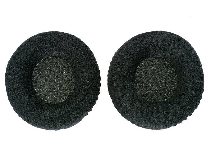 WEWOM 2 almohadillas de repuesto para cascos Pioneer HDJ-1000, HDJ-1500, HDJ-2000 e Technics RP-DH 1200, terciopelo: Amazon.es: Electrónica