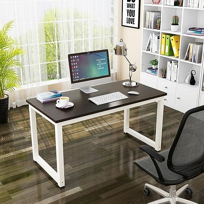 Mesa de Ordenador, Resistente Oficina Escritorio Estudio ...
