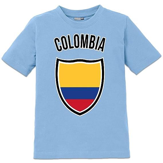 fbdf2f6e6 Camiseta de niño Colombia Shield by Shirtcity  Amazon.es  Ropa y accesorios