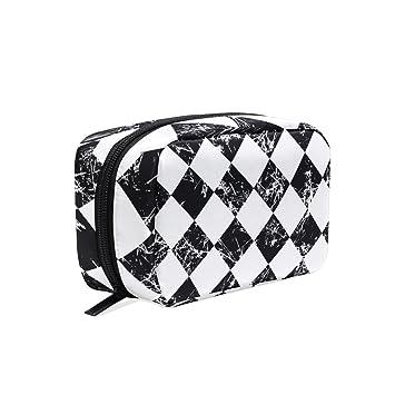 518a385527fd Amazon.com : MAPOLO Grunge Black White Checked Graphic Handy ...
