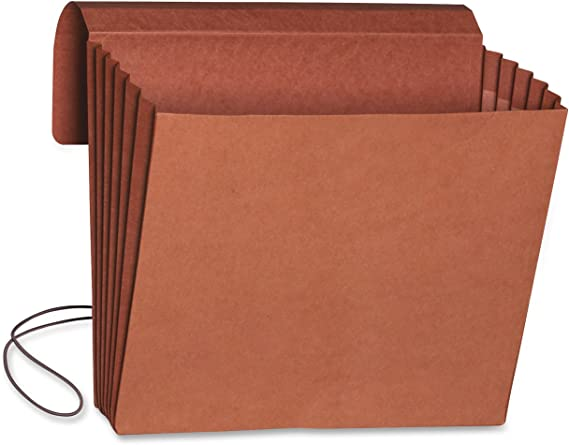 Smead Expanding File Wallet with Flap and Cord Closure