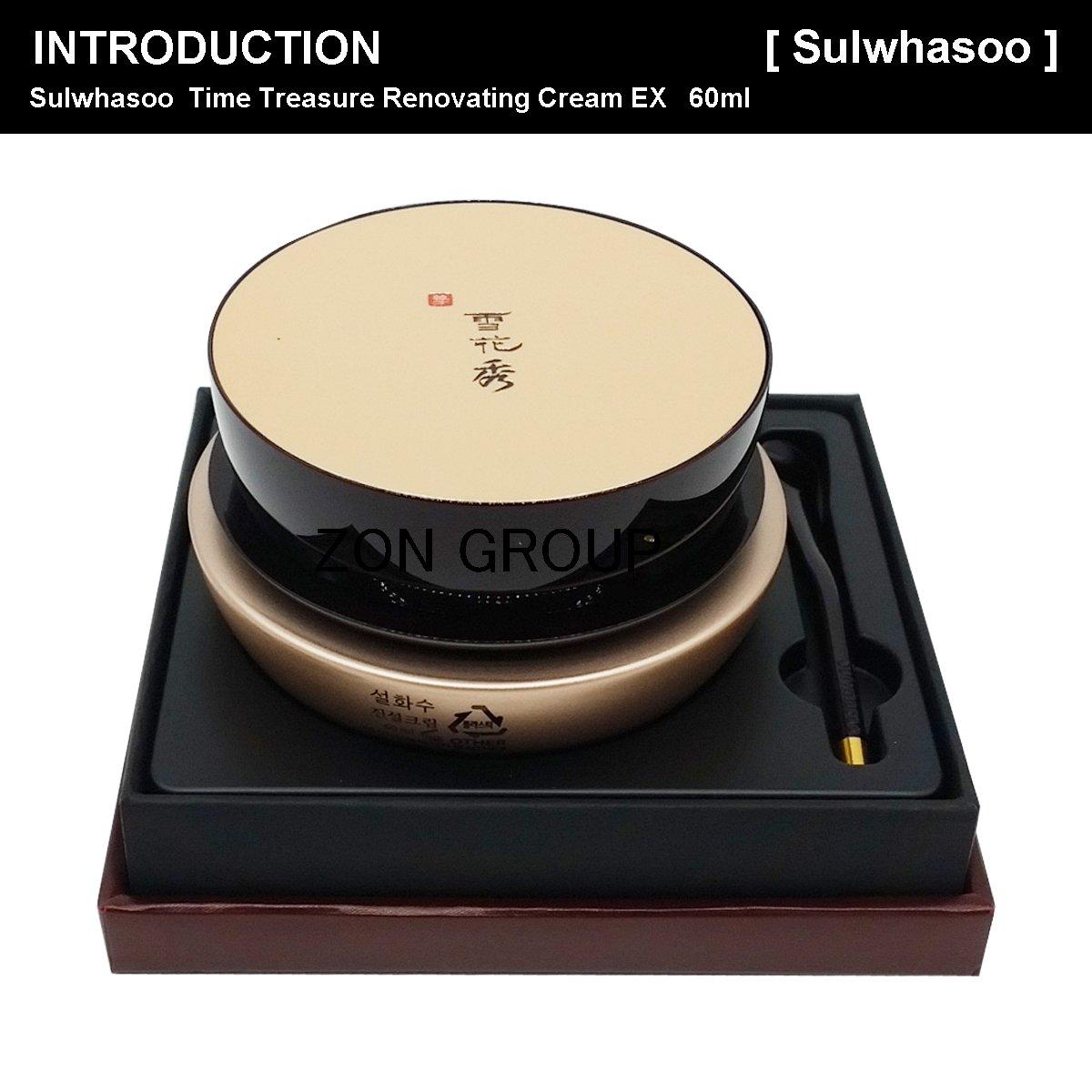 Sulwhasoo Timetreasure Renovating Cream Ex 60ml Gifts Time Treasure Beauty