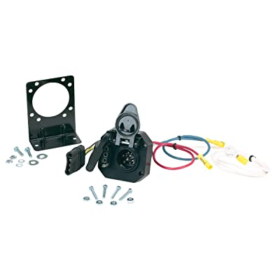 Hopkins 47175 Multi-Tow 4 Flat to 6 Round and 4 Flat Adapter: Automotive