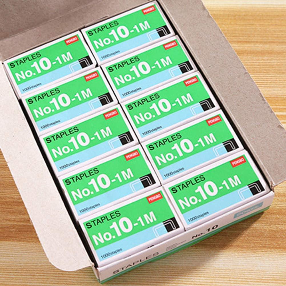 STOBOK 10 Schachteln Mini Heftklammern Kleine Premium-Heftklammern f/ür den Heimgebrauch