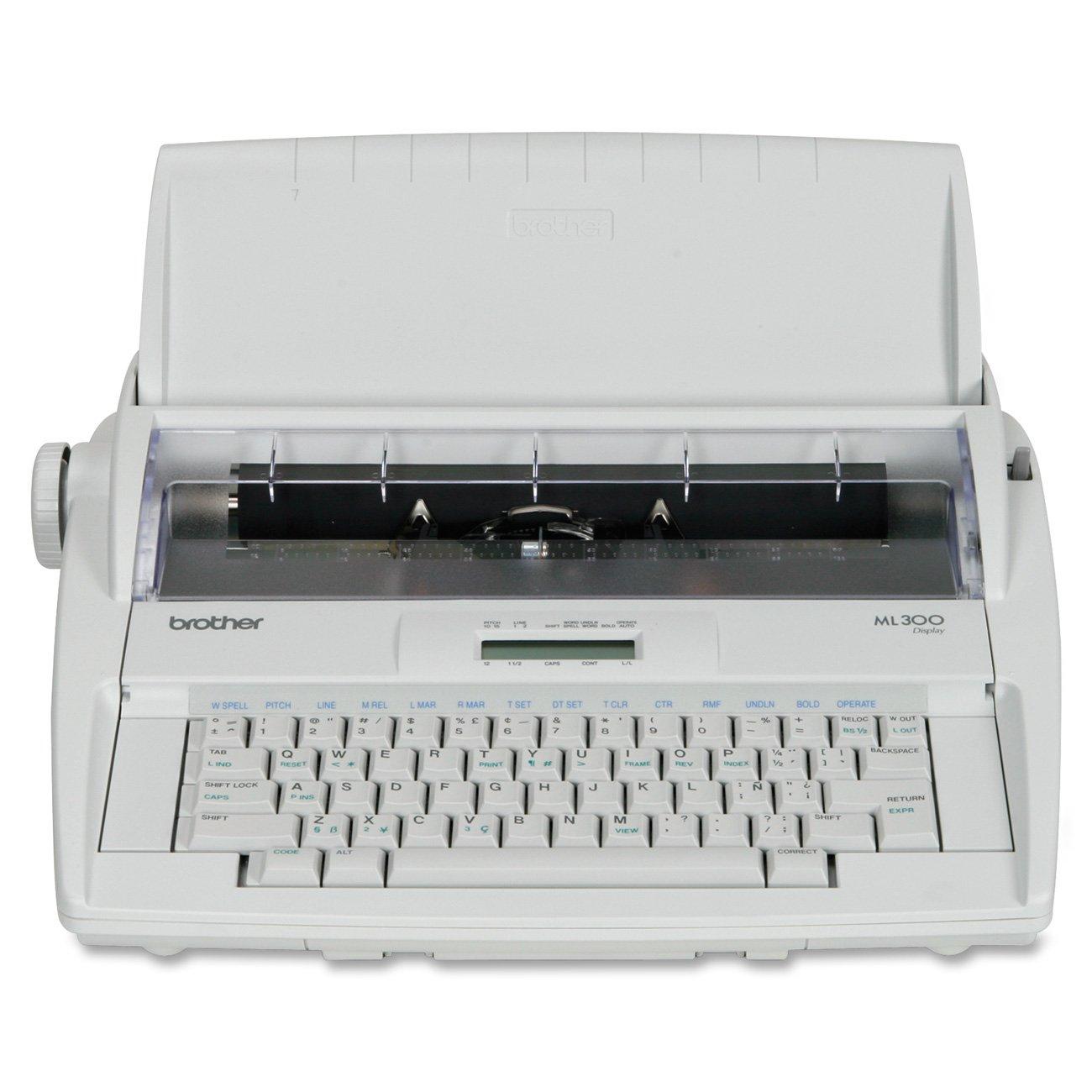 Amazon.com : Brother ML-300 Electronic Display Typewriter - Retail  Packaging : Electric Typewriter : Electronics