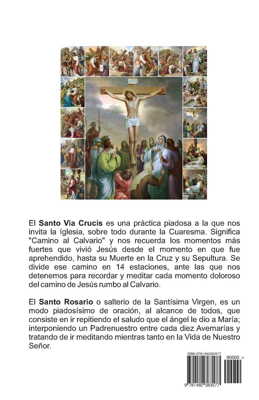 El santo via crucis el santo rosario instrucciones para rezar el santo via crucis el santo rosario instrucciones para rezar ilustrado spanish edition aimee spanish books 9781482383577 amazon books fandeluxe Images