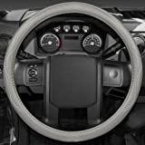 18, Black Blue 2019 New Microfiber Leather Car Extra Large 18 Steering wheel Cover for Big Trucks