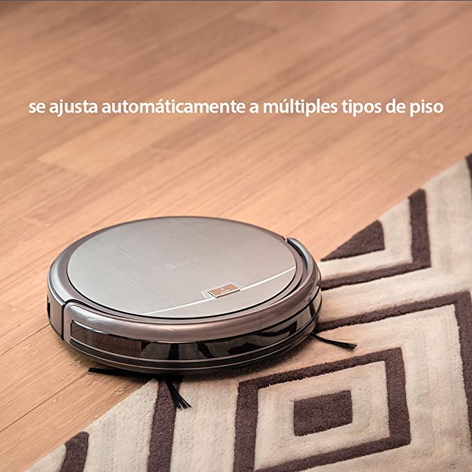 ILIFE A4 Robot Aspirador y Limpieza de Suelos,Slim, Gris Titanio: Amazon.es: Hogar