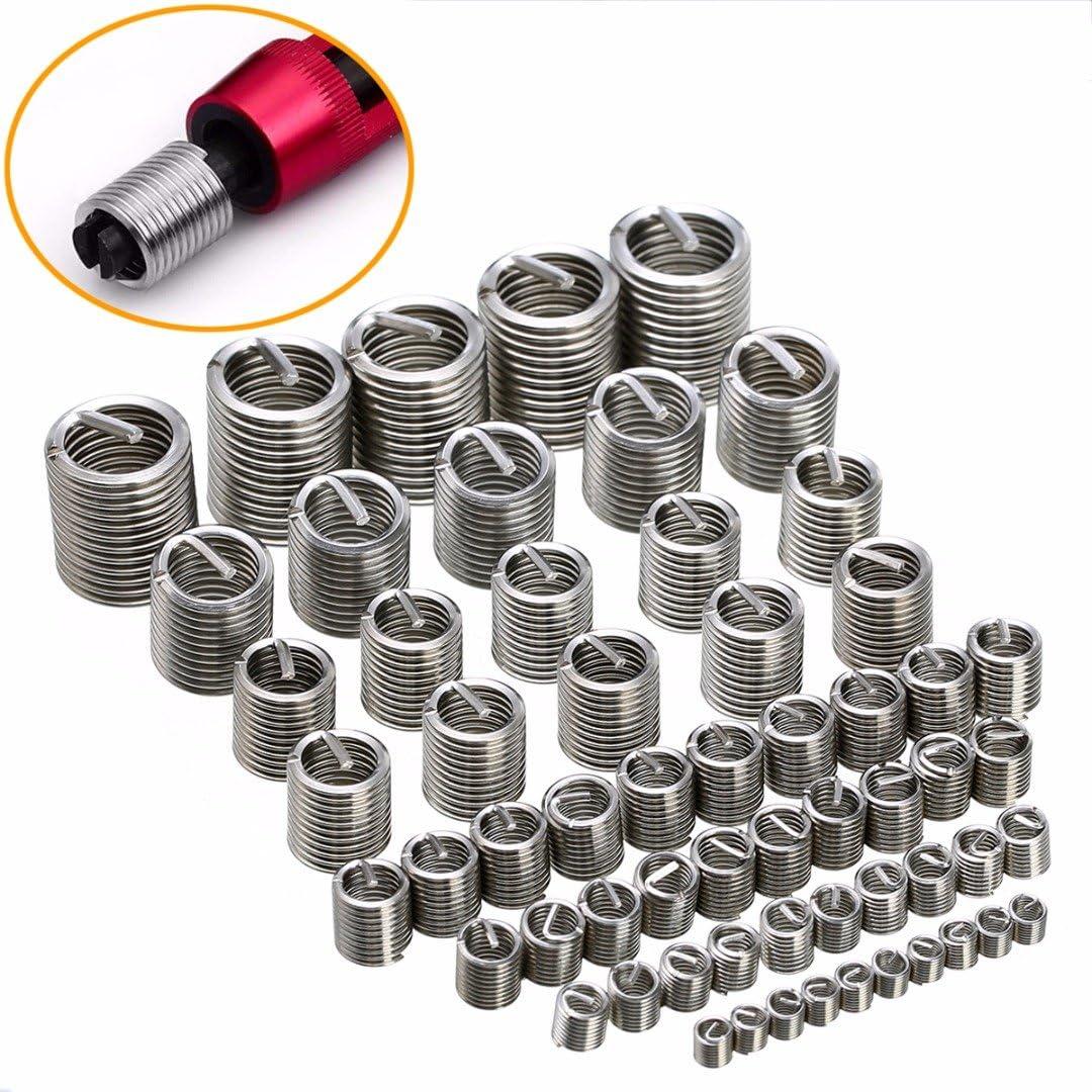 Coil Thread Repair Insert Kit  Helicoil Type M4 M5 M6 M8 M10 M12 M14 Car Tools